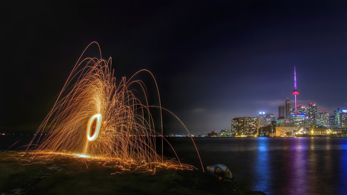 Playing with Fire:  An Introduction to Light Painting